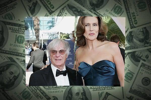 Bernie and Slavica Ecclestone entre os divórcios mais caros