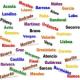 Top 10 sobrenomes mais comum no mundo