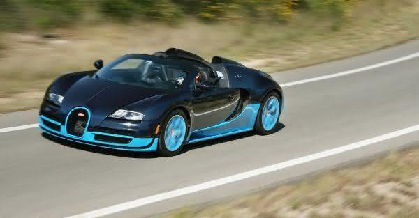 Bugatti Veyron Grand Sport Vitesse mais rapido