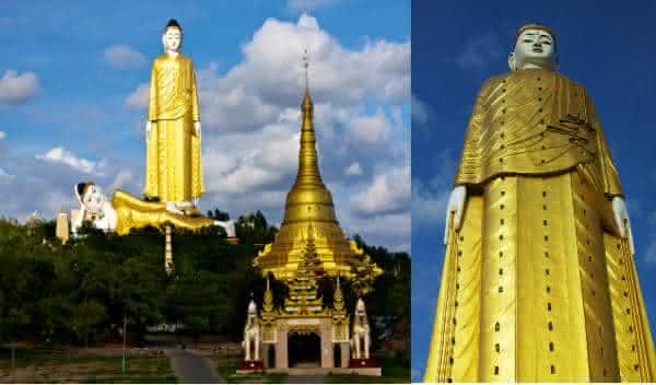 buddha monywa statue