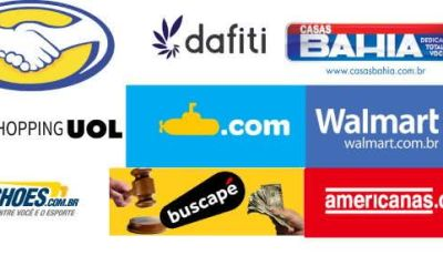 Top 10 maiores sites de compras do Brasil