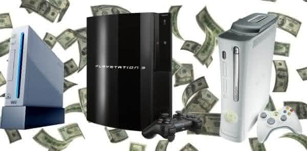 consoles presentes caros