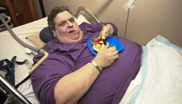 Michael Hebranko é um dos homens mais obeso do mundo