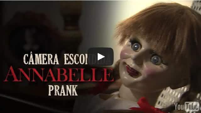 Pegadinha Annabelle