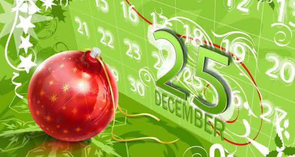 25 de dezembro