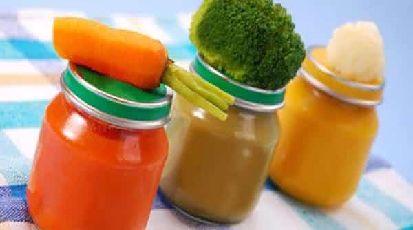 comida papinha de bebe entre as dietas mais usadas