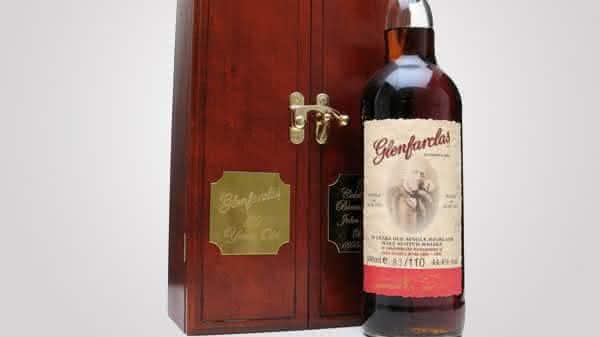 Glenfarclas 1955 whiskys mais caros do mundo