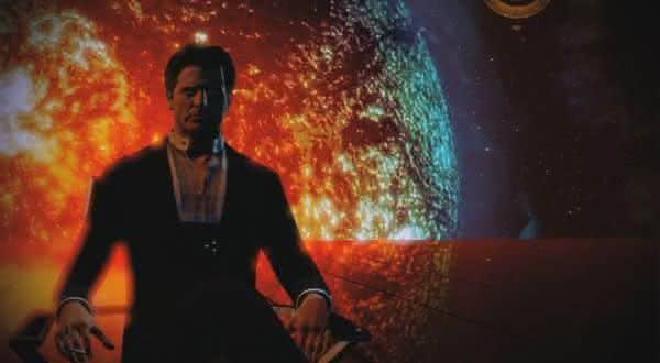 Illusive Man do game Mass Effect