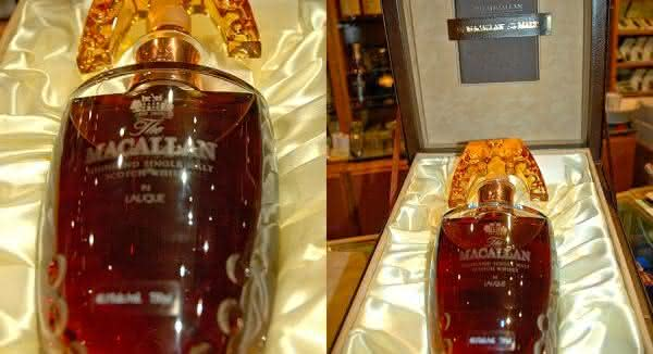 Macallan 55 Year Old Lalique Crystal Decanter