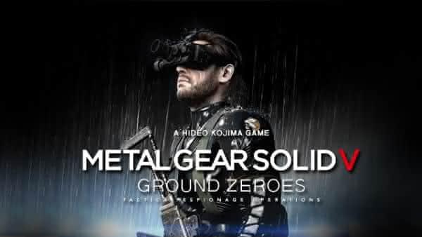 Metal Gear V Ground Zeroes