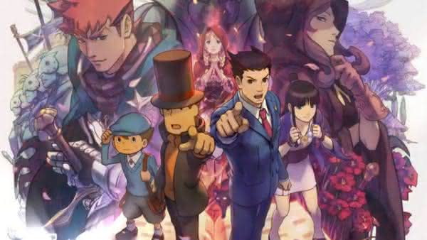 Professor Layton vs Phoenix Wright 2014