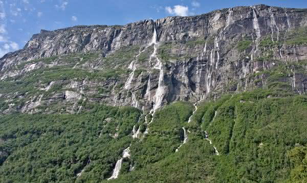 Vinnufossen cachoeiras mais altas