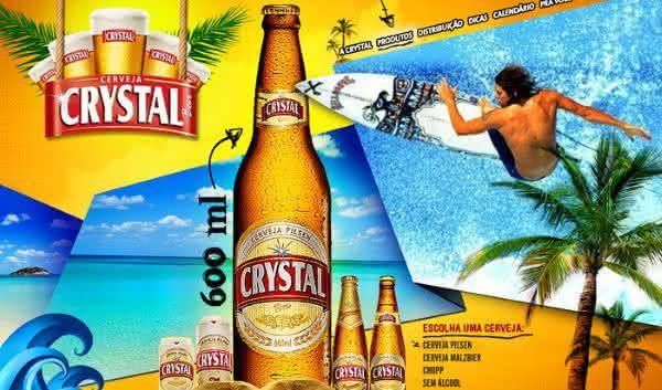 crystal cerveja