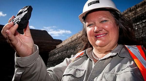 Gina Rinehart uma das mulheres bilionarias da forbes