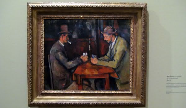 Les Joueurs de cartes – Paul Cezanne