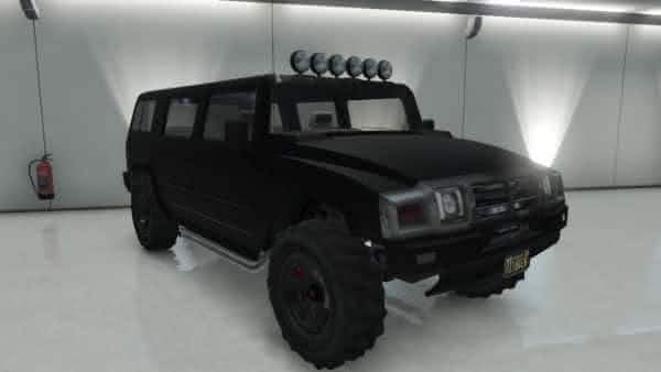Mammoth Patriot gta v