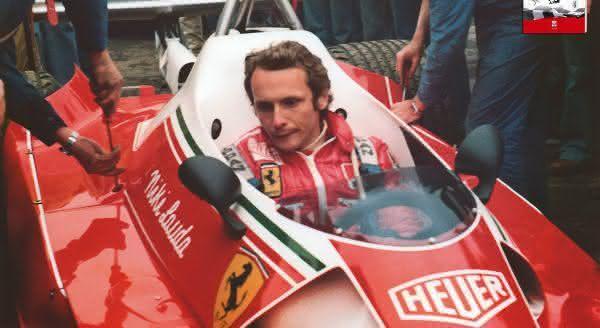 niki lauda um dos maiores pilotos de formula 1 da historia