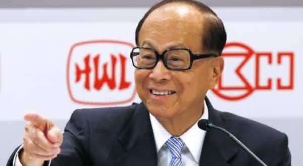 Li Ka-shing a pessoa mais rica da asia