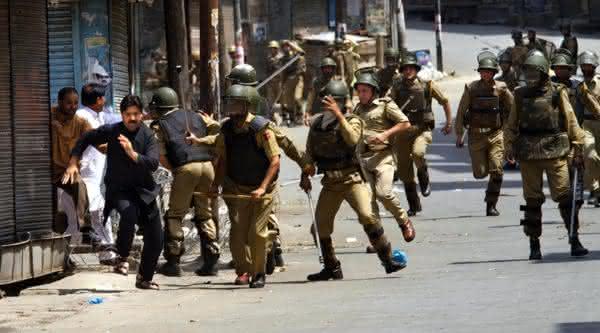 forca policial da india