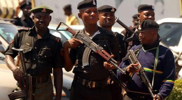 forca policial da nigeria