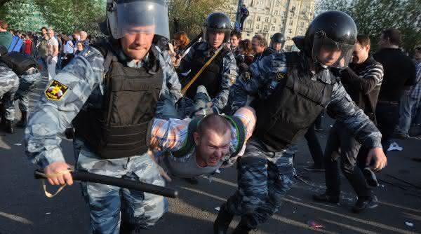 forca policial do russia