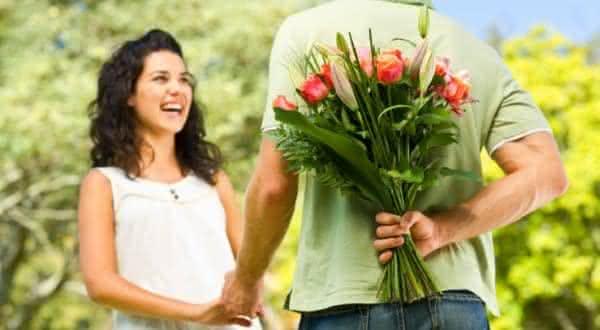 flores no dia dos namorados