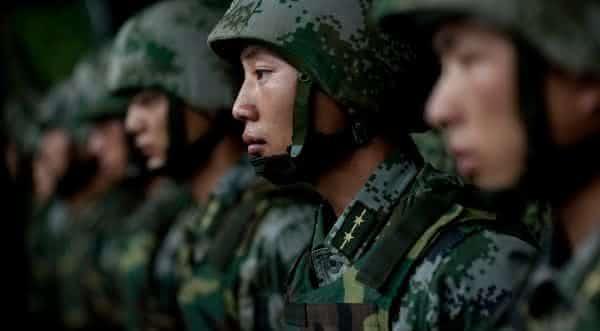 maiores forcas armadas do mundo china