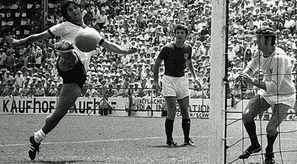 selecao alema em 1970
