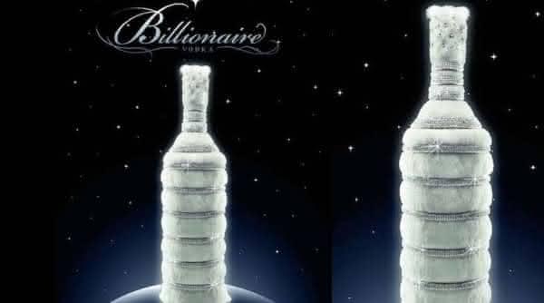 Billionaire Vodka mais cara do mundo