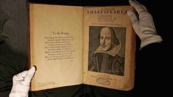 First Folio William Shakespeare
