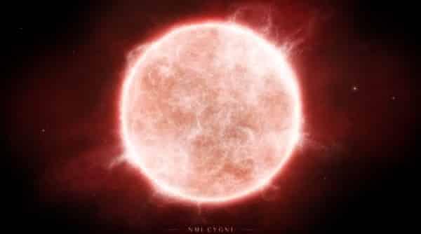 NML Cygni estrelas