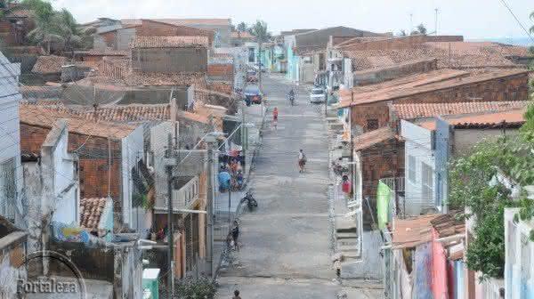 Pirambu em Fortaleza uma das maiores favelas do brasil
