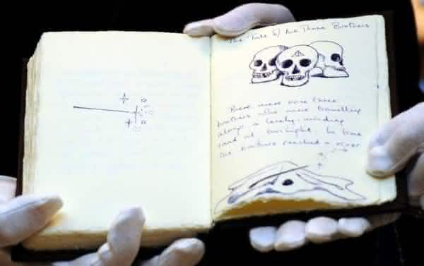 The Tales of Beedle the Bard manuscrito mais caro