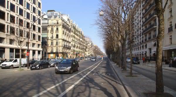 rua Avenue Montaigne