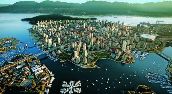 vancouver uma das cidades mais belas do mundo