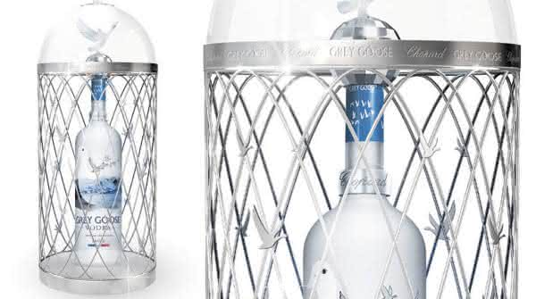 vodka Magnum Grey Goose por Chopard