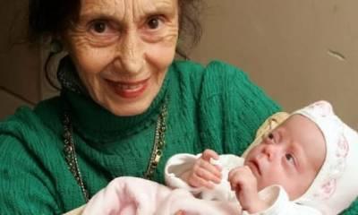 Top 10 mulheres mais velhas a dar a luz