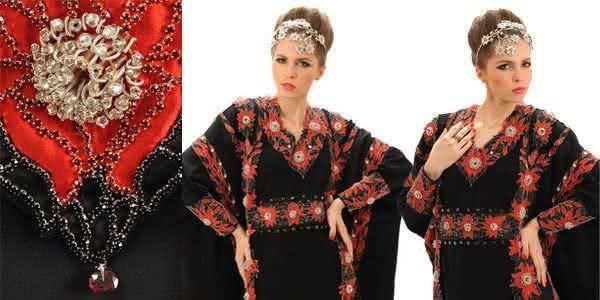 Debbie Wingham Abaya vestidos mais caros do mundo