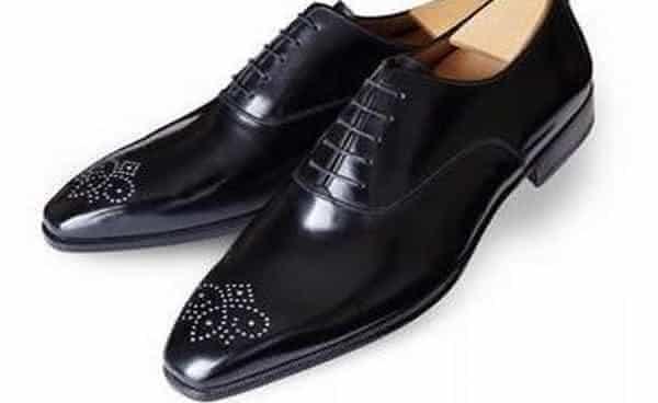 Sapatos com diamantes de Aubercy