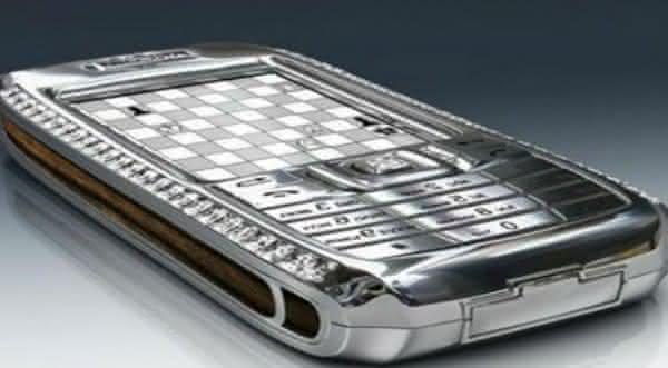 The Diamond Crypto Smartphone mais caros