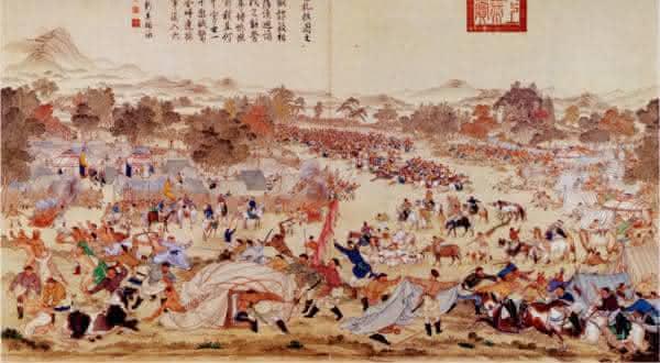 genocidio  Dzungar