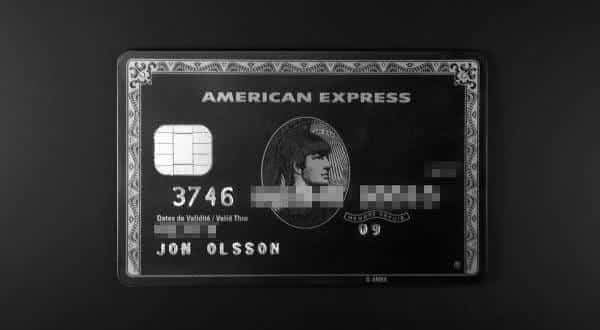 American Express Centurion Card entre os mais exclusivos