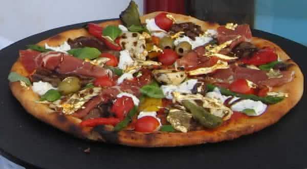 Domenico Crolla Pizza Royale 007 mais caras do mundo