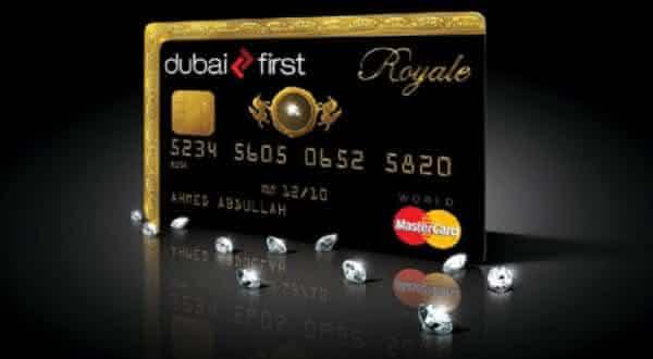 Dubai First Royal MasterCard entre os cartoes de credito mais exclusivos