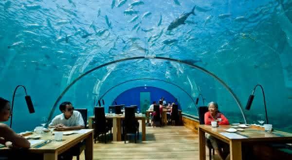 Ithaa Undersea Restaurantes mais caros