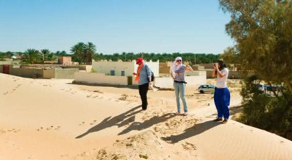 Kebili Tunisia entre os luagres mais quentes do mundo