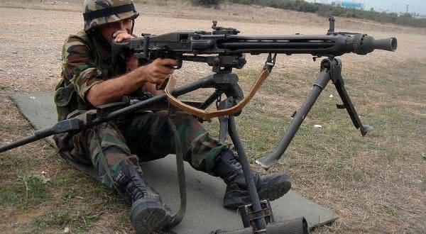 MG3 Machine Gun armas mais perigosas