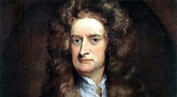 Sir Isaac Newton entre as pessoas mais inteligentes da historia