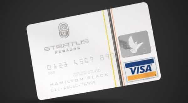 Stratus Rewards Visa entre os cartoes de creditos mais caros