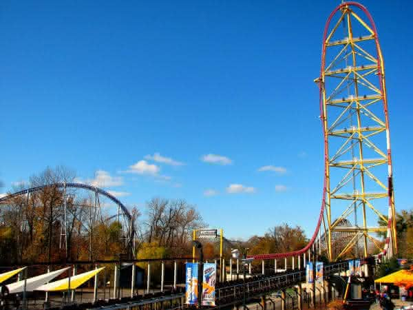 Top Thrill Dragster entre as maiores montanhas russa do mundo